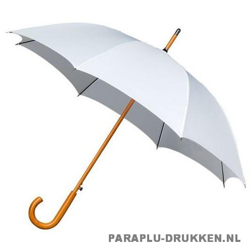Luxe paraplu bedrukken LA-17 wit