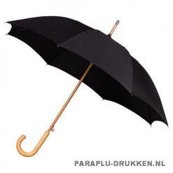 Luxe paraplu bedrukken LA-17 zwart