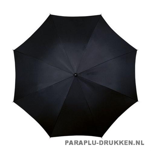 Luxe paraplu bedrukken LA-17 zwart top