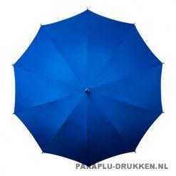 Luxe paraplu bedrukken LR-3 blauw top