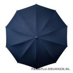 Luxe paraplu bedrukken LR-3 navy top