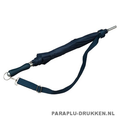 Luxe paraplu bedrukken LR-3 navy