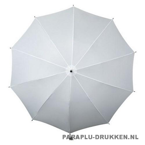 Luxe paraplu bedrukken LR-3 wit top