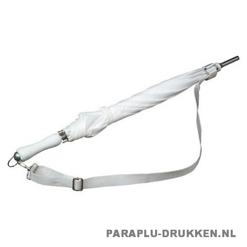 Luxe paraplu bedrukken LR-3 wit