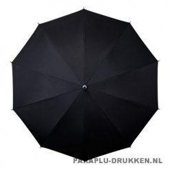 Luxe paraplu bedrukken LR-3 zwart top