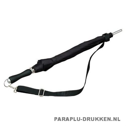 Luxe paraplu bedrukken LR-3 zwart