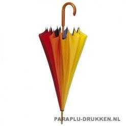 Luxe paraplu bedrukken LR-80 regenboog