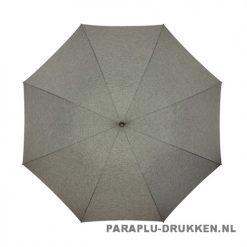 Luxe paraplu bedrukken GR-407 doek grijs