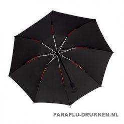 Opvouwbare paraplu insideout LGF-406 bedrukken zwarte