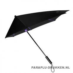 StorMaxi Display Impliva stormparaplu bedrukken speciale editie paars