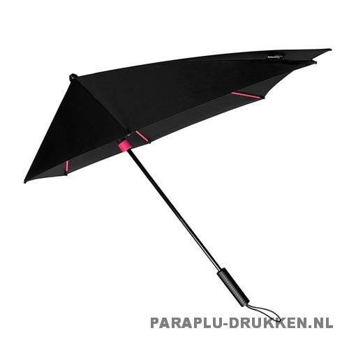 StorMaxi Display Impliva stormparaplu bedrukken speciale editie roze