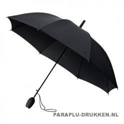 Tulp paraplu TLP-8 bedrukken zwart