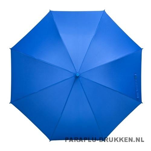Tulp paraplu TLP-8 bedrukt met logo blauw