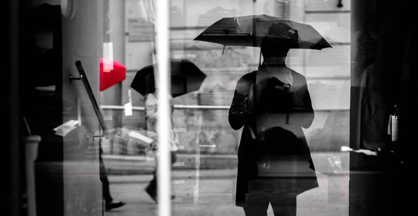 Paraplu goedkoop bedrukt aanbieding