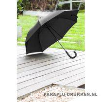 Paraplu goedkoop lang luxe zwart voorbeeld