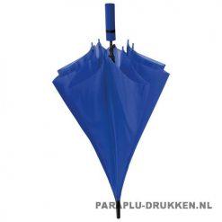 Paraplu goedkoop neon blauw voorbeeld