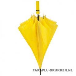 Paraplu goedkoop neon geel voorbeeld