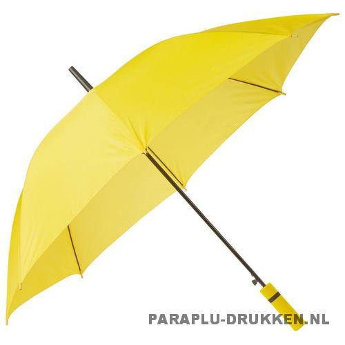 Paraplu goedkoop neon geel