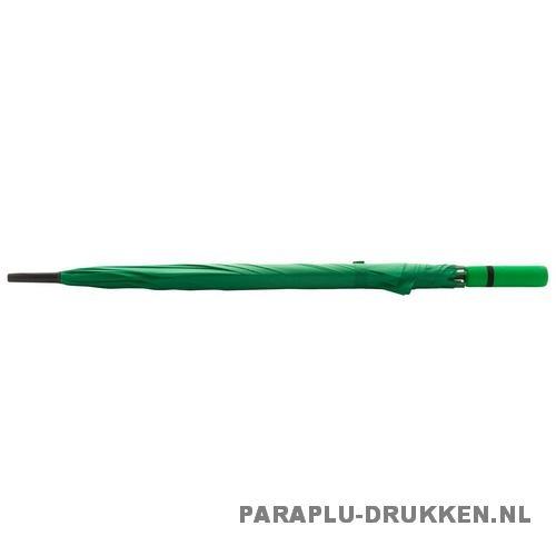 Paraplu goedkoop neon groen stok