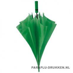 Paraplu goedkoop neon groen voorbeeld