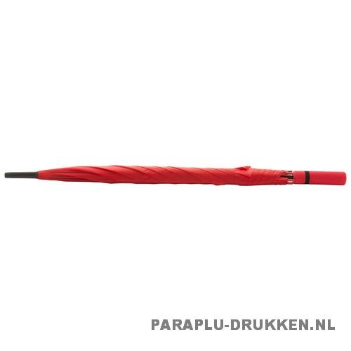 Paraplu goedkoop neon rood stok