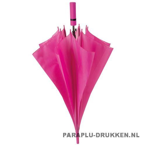 Paraplu goedkoop neon roze voorbeeld