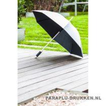 Paraplu goedkoop ontwerp zilver voorbeeld