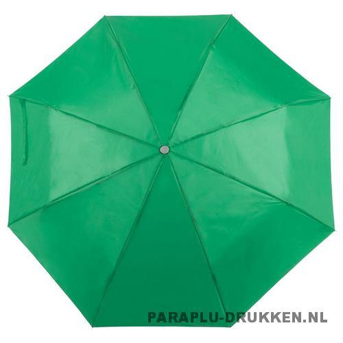 Paraplu goedkoop opvouwbaar opvallend groen