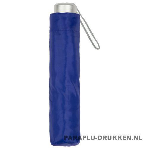 Paraplu goedkoop opvouwbaar opvallend paars hoes