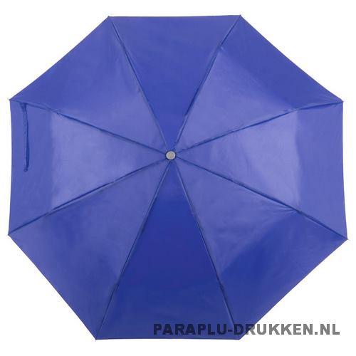 Paraplu goedkoop opvouwbaar opvallend paars