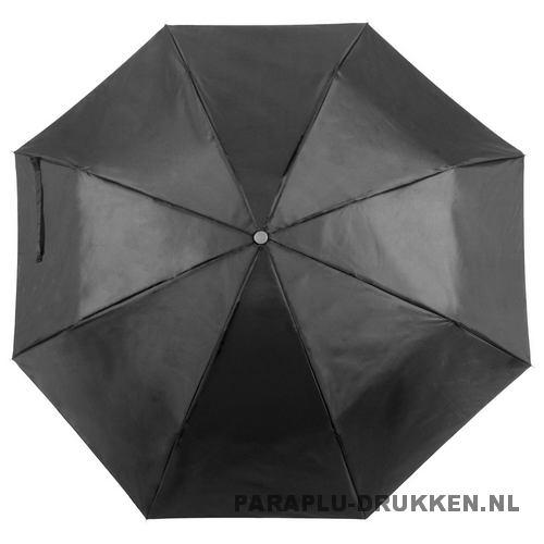 Paraplu goedkoop opvouwbaar opvallend zwart