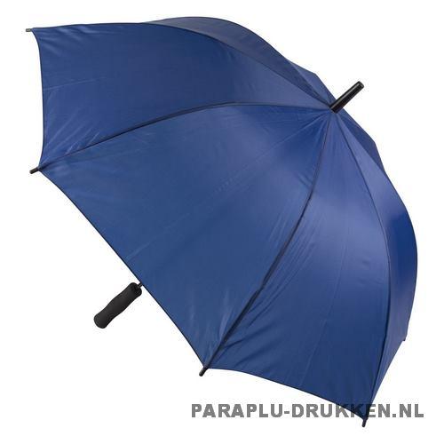 Paraplu goedkoop windproof blauw