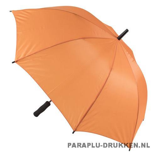 Paraplu goedkoop windproof oranje