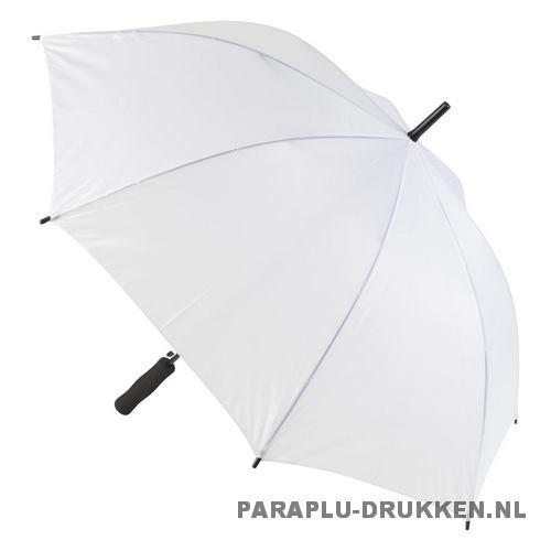 Paraplu goedkoop windproof wit